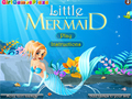 Game Little Mermaid Dress Up  online - games online