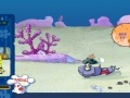 Game SpongeBob attack robots  online - games online
