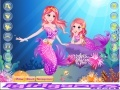 Game Pretty Little Mermaid And Her Mom online - games online