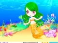 Game Little princess mermaid  online - games online