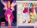 Game Beautiful Fairy Dress Up online - games online