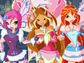 Game Winx Happy Year Rotate Puzzle online - games online