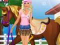Game Barbie goes Horse Riding online - games online