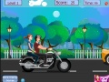 Game Risky motorcycle kissing online - games online