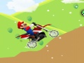 Game Mario motocross snowing online - games online