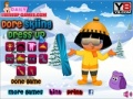 Game Skiing Dora  online - games online