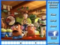 Game Games Toy Story: Toy Story put the letter  online - games online