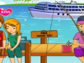 Game Kissing and Fishing online - games online