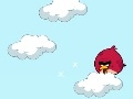 Game Angry Birds cloud jumping online - games online