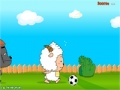 Game Lazy Goat and Big Big Wolf Soccer War online - games online
