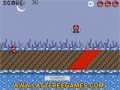 Game Mario Fire Pit Jumping online - games online