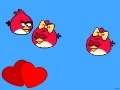 Game Angry Birds cannon 3 for Valentine's day online - games online