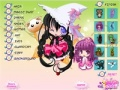 Game Anime Witch Dressup online - games online