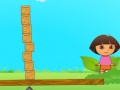 Game Building blocks with Dora and Boots online - games online