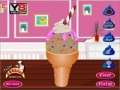 Game Chocolate Ice Cream Decoration online - games online