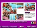 Game Jimmy Neutron Sliding Puzzle online - games online
