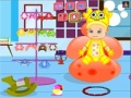 Game Cute baby bathing online - games online