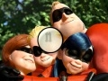 Game The Incredibles hidden letters  online - games online