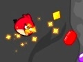 Game Angry Birds collect cave gems online - games online