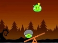 Game Angry Birds piggies balance online - games online