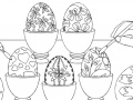 Game Painting Eggs - Rossy Coloring Games online - games online