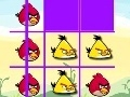 Game Angry Birds: tic-tac-toe  online - games online