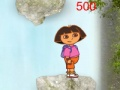 Game Dora jump over the falls  online - games online