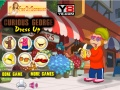 Game Curious George Dress Up online - games online