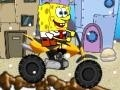Game Spongebob's Snow Motorbike online - games online