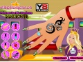 Game Princess Barbie Manicure Makeover online - games online