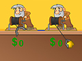 Game Gold Miner Two Players online - games online