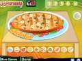 Game Delicious Vegetable Pizza online - games online
