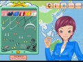 Game Weather Girl Make Up Game online - games online