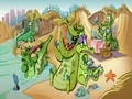 Game By boat from crocodiles  online - games online