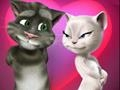 Game Valentine with a talking cat Tom  online - games online