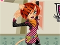 Game Dress Toleray Stripe Monster High  online - games online