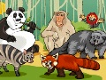 Game Crocodile and sloths  online - games online