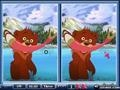 Game Find the differences - Bears online - games online