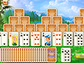 Game Three towers solitaire online - games online