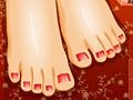 Game Wonderful pedicure online - games online