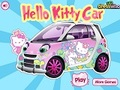 Game Game Hello Kitty: Hello Kitty Car  online - games online