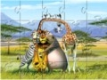 Game Madagascar puzzles  online - games online