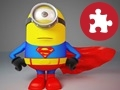Game Minion Superman puzzle online - games online