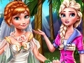 Game Frozen Anna's wedding  online - games online