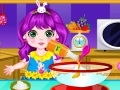Game Princess cooking Easter cupcakes  online - games online