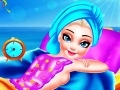 Game Elsa beach outing preparation online - games online