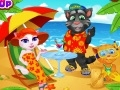 Game Talking Angela summer vacation online - games online