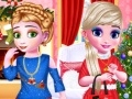 Game Frozen sisters Christmas day online - games online